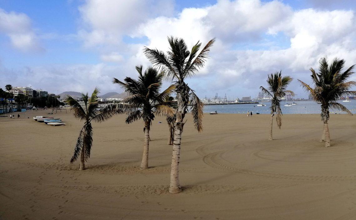 Playa de Alcaravaneras.
