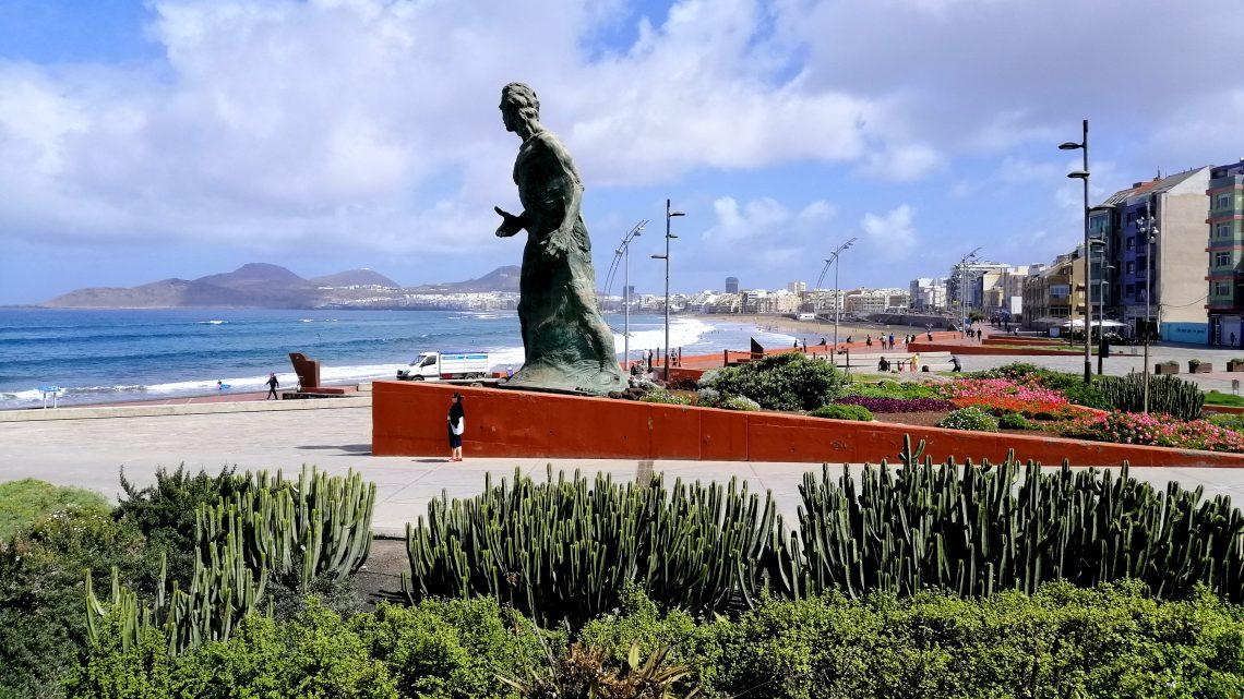 Las Canteras, la playa que ver en Las Palmas.