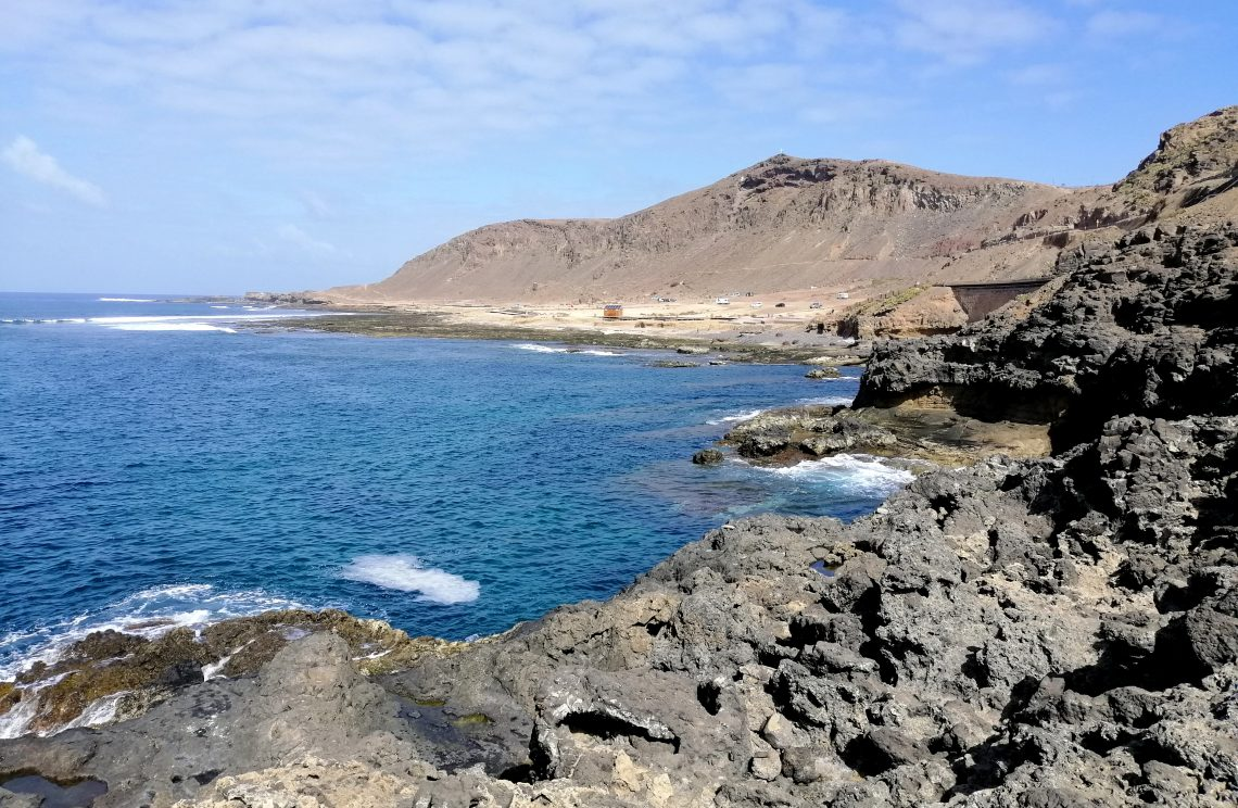 Playas que ver en Las Palmas: El Confital.