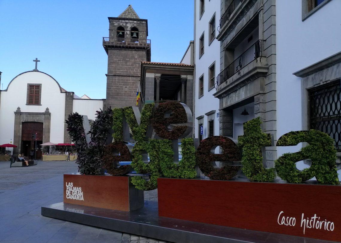 Vegueta, centro histórico de Las Palmas.