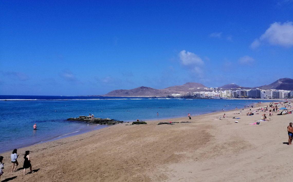 Las Palmas: Las Canteras.