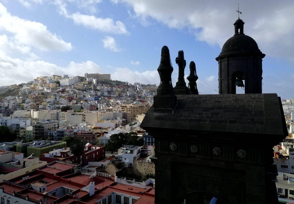 qué ver en Las Palmas desde la torre de la catedral