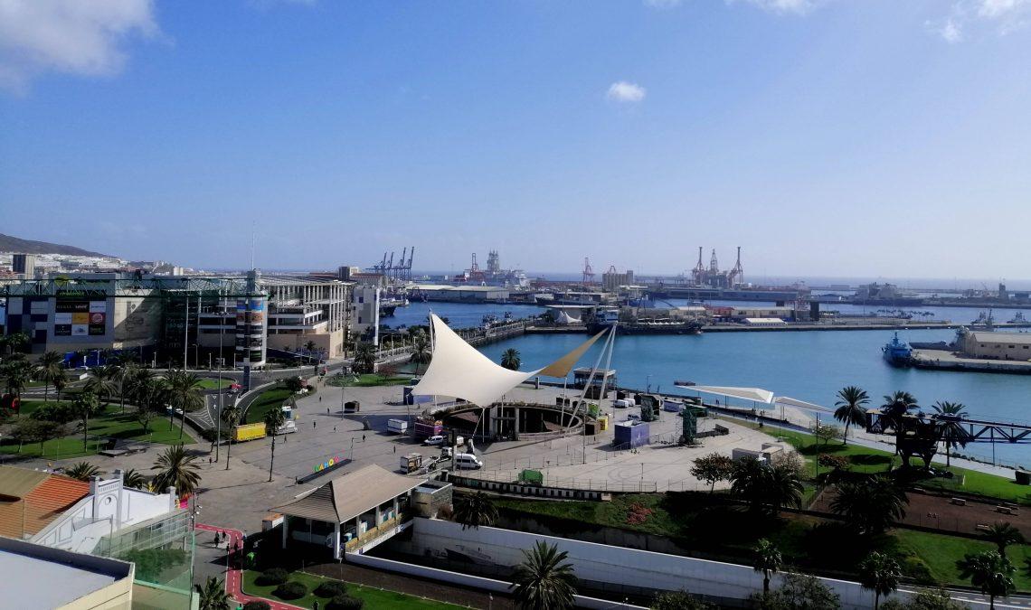 Zona del Muelle y centro comercial, Las Palmas.