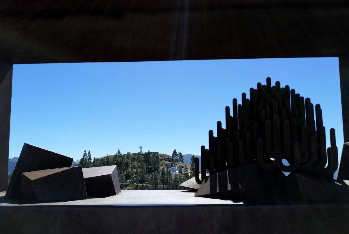 Mirador de la Atalaya, en Artenara.