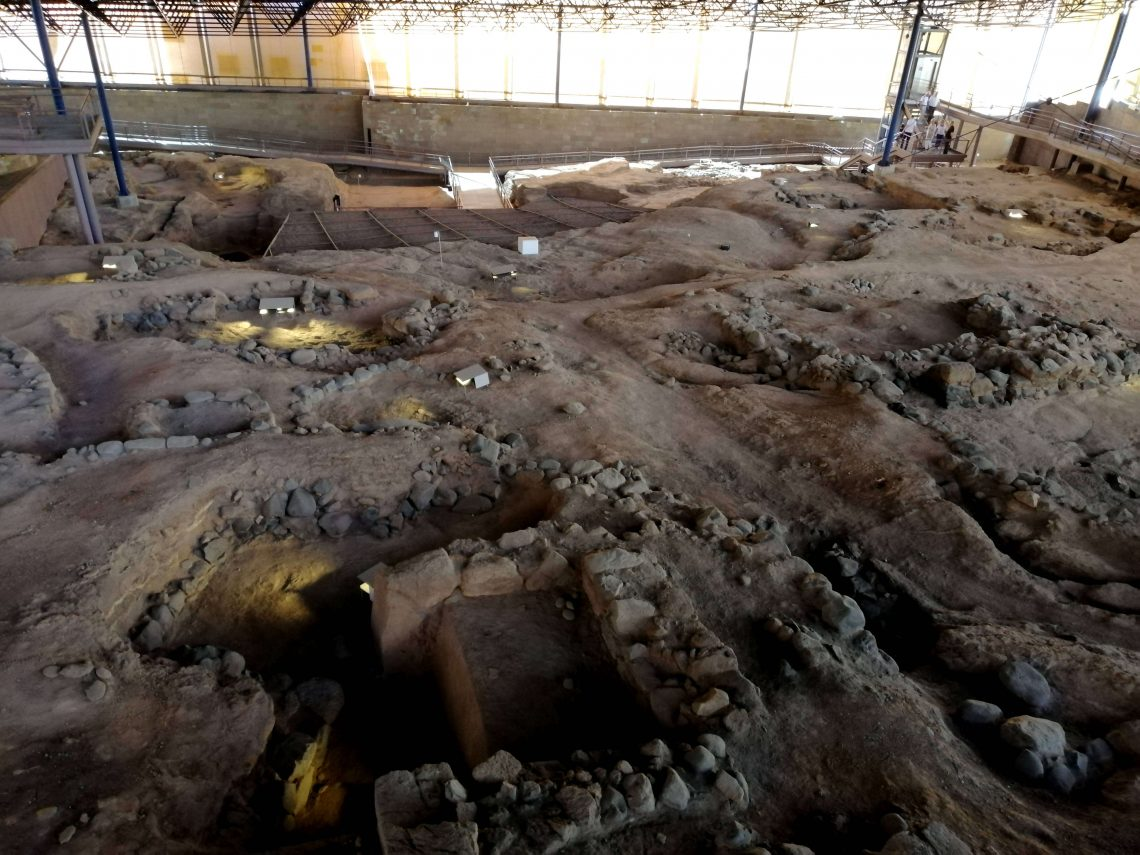 Museo arqueológico Cueva Pintada de Gáldar.