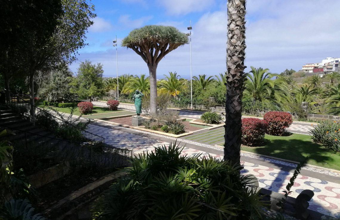 Jardín municipal de Arucas