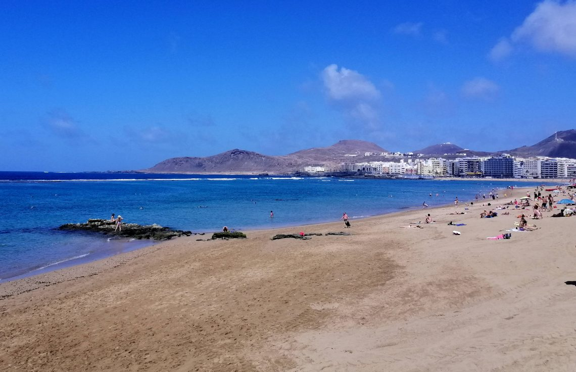Las Canteras, mejores playas de Gran Canaria