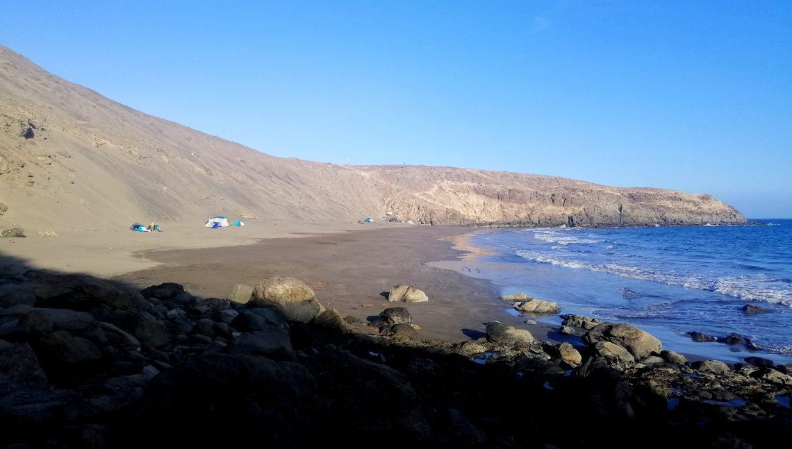 Playa nudista en Gran Canaria