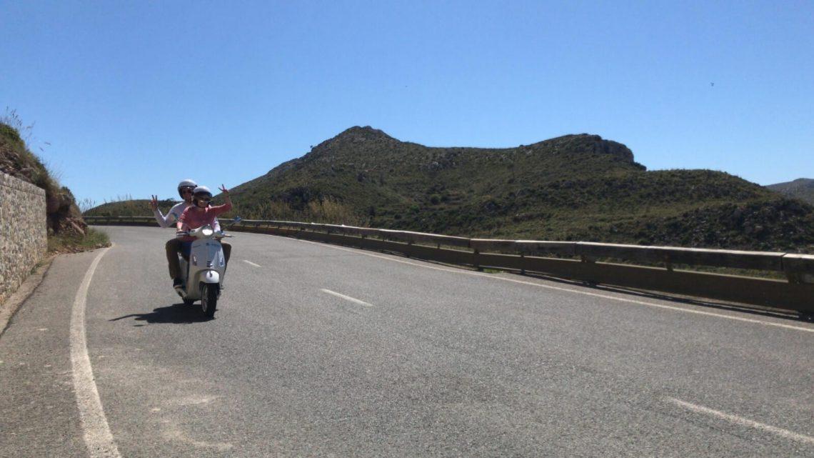 recorridos por mallorca en moto